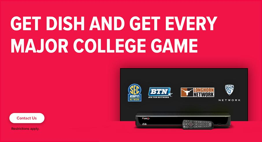 Sports TV Package - College Sports - Hughesville, Pennsylvania - Hans CedarDale Satellite Inc - DISH Authorized Retailer